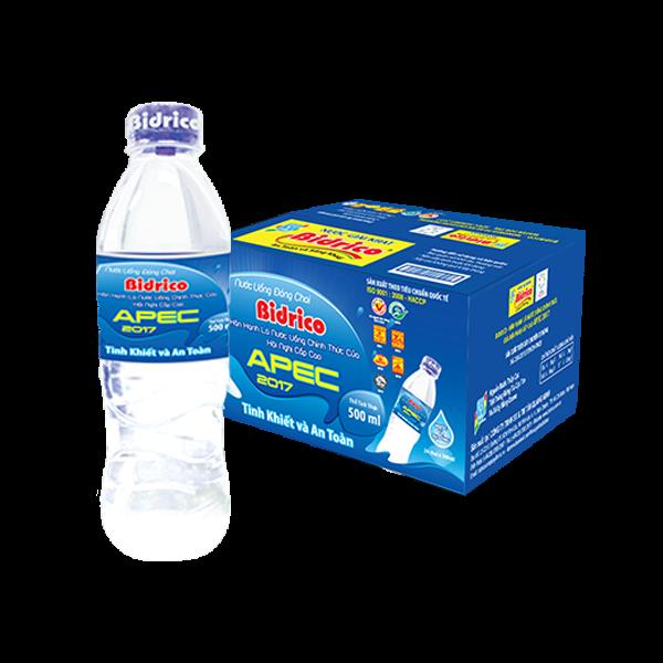 Nước đóng chai Bidrico 500ml